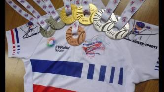médailles france piste 2016 marine